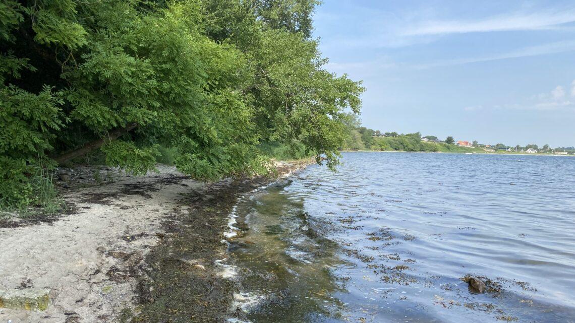 4. etape: Gammelmark Strand Camping – Als Kloster.  18 km.